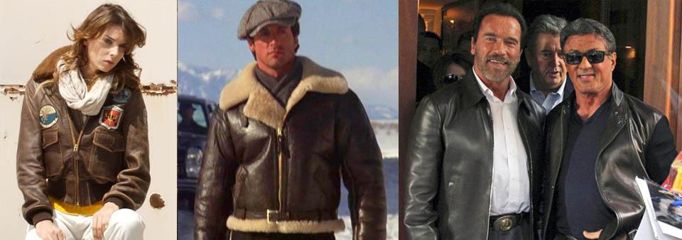 Любимая куртка Сильвестра Сталлоне.